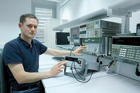 Electrical laboratory of Testo Industrial Services