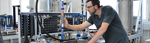 Calibration in the laboratory flow rate of Testo Industrial Services