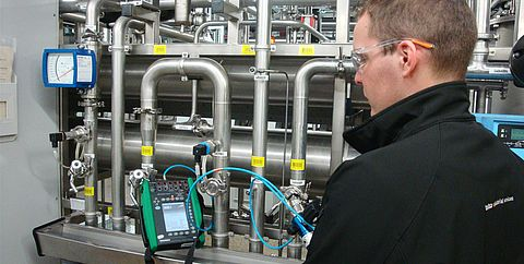 Checking of Water and water systems by Testo Industrial Services