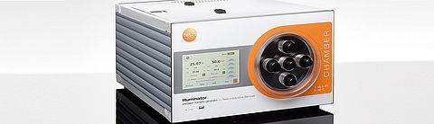 Humidity generator Huminator from Testo Industrial Services