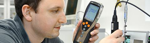 Calibration in the laboratory temperature - Testo Industrial Services